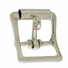 All purpose strap buckle with locking tongue - 1 inch Nickel Plated (1540-10