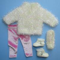 American Girl 1998 Snowball Sweater Leggings Complete Retired Pristine Pleasant