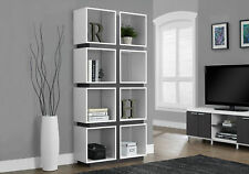 """Monarch Specialities Bookcase - 71""""H / White / Grey (I-7076)"""