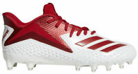New Mens Adidas Freak X Carbon Low Football Cleats 12.5 White Red CG4374