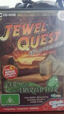 Jewel Quest Mysteries Curse of The Emerald Tear PC GAME - FREE POST *