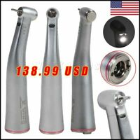 Dental 1:5 Increase Electric Fiber Optic LED Contra Angle Handpiece Fit KAVO US