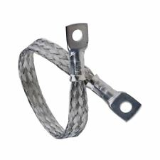 """Battery Lead Earth Strap 450mm / 18"""" Classic Car Flexible Cable Tin Copper Braid"""