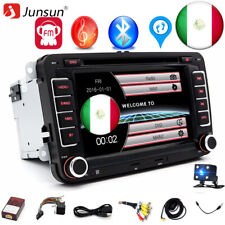 "7"" 2 din Autoradio Stereo DVD Player GPS Navigatore For VW Golf 5 6 Passat Seat"