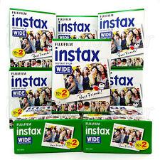 200 PCS Fujifilm INSTAX WIDE Instant film picture for camera 100/200/210/300 BOX