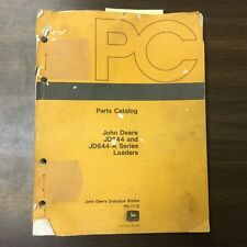 John Deere JD644 644A PARTS MANUAL CATALOG BOOK WHEEL LOADER GUIDE LIST PC-1110