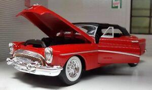 1:24 Buick 1953 Roadmaster Super Skylark Rouge WELLY G LGB Miniature Voiture
