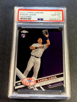 AARON JUDGE 2017 TOPPS CHROME #169 ROOKIE RC PSA 10 NEW YORK YANKEES MLB