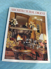 ARCHITECTURAL DIGEST -MAY 1999 JOHN TRAVOLTA and KELLY PRESTON IN MAINE