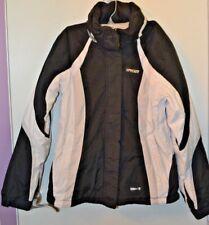 Spyder Winter Jacket Coat Ladies Women's Medium Size 10 Black White Gray