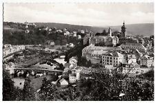 Ak Weilburg, Lahn, Blick auf Schloß und Brücke, ungelaufen, um 1960 (17a-m)