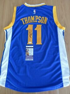 KLAY THOMPSON - Golden State Warriors Signed Jersey with COA