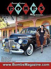 "CLASSIC & KUSTOM BOMBS MAGAZINE ISSUE #2 COVER POSTER 24""X18"" '41 CHEV WOODY NEW"