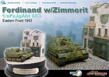 1:72  Dragon Armor 60209 Ferdinand s.Pz.Jg.Abt. 653 ref 60209 diorama