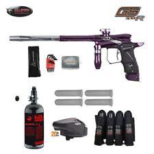 Dangerous Power G5 Spec-R  Advanced Paintball Gun Package Pulsar Purple Silver
