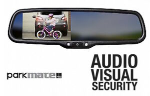 """NEW PARKMATE 4.3"""" REARVIEW MIRROR MONITOR UNIVERSAL"""