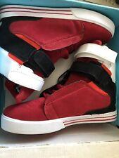 Tk Society Pro Model Supra Red/Black Suade