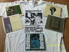 RELIGIOUS OVERDOSE-GLASS HYMNBOOK 1980-82 CD-SIGNED+T SHIRT+4 CARDS