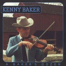 """""""Baker's Dozen"""" by Kenny Baker (Fiddle) CD, Apr-2004, County 2732"""