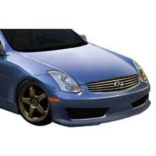 For Infiniti G35 03-07 Inven Style Fiberglass Front Bumper Cover Unpainted