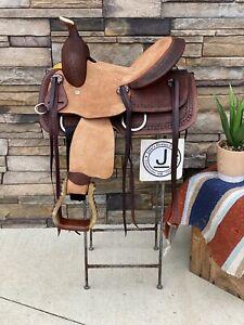 "12/"" Western Junior Ranch Saddle"