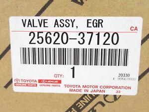 Genuine OEM Toyota Lexus 25620-37120 EGR Valve Assy 2010-15 Prius 2011-17 CT200h