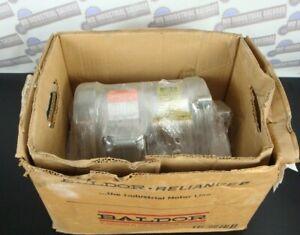 (NEW) BALDOR VM8001 .5HP, 1725RPM, 3PH, 60HZ, 56C, 3416M, TEFC, F1 (Dirty Duty)