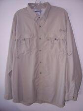 Men's Columbia PFG Omni Shade Vented Fishing Shirt XL