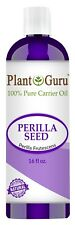 Perilla Seed Oil 16 oz. Cold Pressed 100% Pure Natural Organic For Skin, Hair