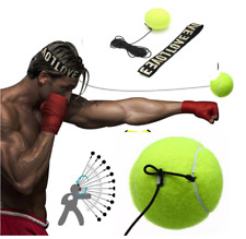 Pro Boxing Speed Tennis Ball Reflex Training Practice Sport Head Band Speedball