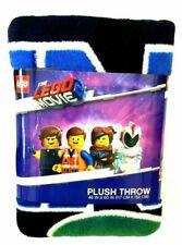"The Lego Movie Blanket Vest Friends Throw Plush Soft & Warm Cuddly Size 46""x 60"""