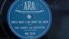 Phil Harris  – 78rpm 10-inch – ARA #RM-1044 (Latset copy)