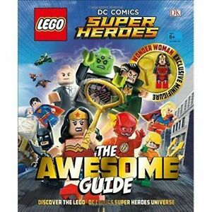 LEGO  DC Comics Super Heroes The Awesome Guide New Hardback Book