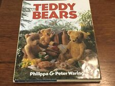 Teddy Bears Book by Philippa & Peter Waring Arctophiles Bear 1984