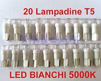 N° 20 Lampade LED T5 ANGEL EYES 5000K Bianchi Fari DEPO FK  PREZZO OFFERTA!!