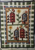 JC Penny Birdhouse Picket Fence Quilt