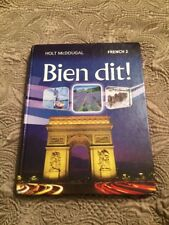 Bien dit!: Student Edition Level 2 2013 (French Edition) by HOLT MCDOUGAL