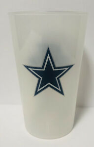 NFL Dallas Cowboys Hard Plastic Drinking Cup AT&T Stadium Football Collectible!