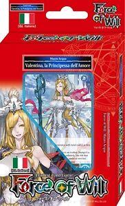 FORCE OF WILL Mazzo Introduttivo - VALENTINA, la principessa dell'amore (acqua)