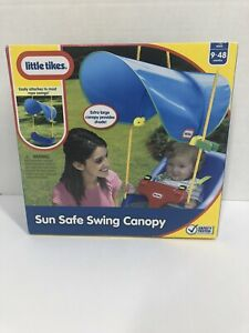 NEW Little Tikes Sun Safe Rope Swing Shade Canopy Awning Attachment Baby Toddler