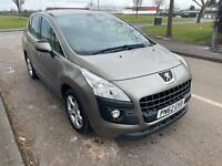 2012 Peugeot 3008 1.6 VTI Active Petrol 5 Door SPARES OR REPAIRS