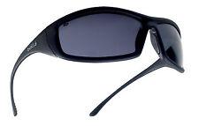 Lunettes de Protection Bollé Safety SOLIS Oculaires Fumés noir homme SOLIPSF