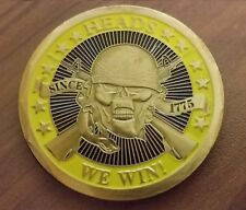 US army challenge coin heads we win, tails you lose