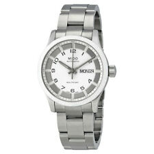 Mido Multifort Automatic White Dial Mens 38mm Watch M0188301101200