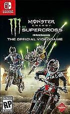 Monster Energy Supercross: The Official Videogame (Nintendo Switch, 2018)