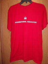 International Harvester Red L t shirt