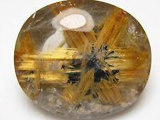 MCV-Amazing Quartz with rare Star Rutile inclusion.91.72 cts. Big gemstone.