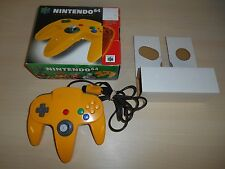 Nintendo 64 Yellow Controller N64 Official Working w/ Box Original