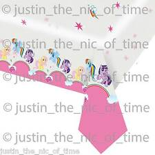 My Little Pony Birthday Party Supplies Napkins Cups Etc - X1 Plastic Table Cover