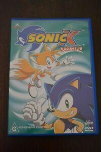 SONIC X VOLUME 10 DVD